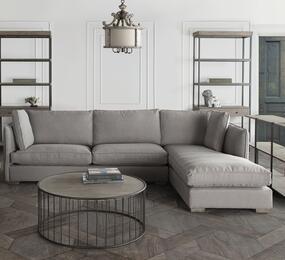 Diamond Sofa HOPERF2PCSECTGR