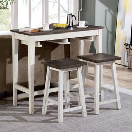 Furniture of America CM3475WHPT3PK