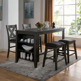 Furniture of America CM3153GYPTSCST5PCSET